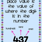 Place Value Match-Up Game to the Hundreds Place