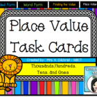 Place Value Math Task Cards - HUGE SET!