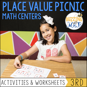Place Value Picnic: Math Stations, Activities, and Handouts