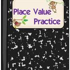 Place Value Practice-Monkeys