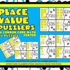 Place Value Puzzlers-A Common Core Math Center-Grades 2-3