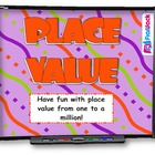 Place Value SMART BOARD Game