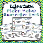Place Value Scavenger Hunt - Math Work Station