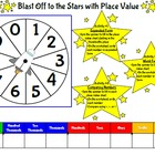 Place Value Spinners Game Boards and Answer Sheets