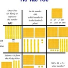 Place Value: Tic Tac Toe