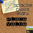 Place Value TicTacToe Extension Activities
