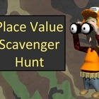 Place Value and Ordering Numbers Scavenger Hunt Activity - Free