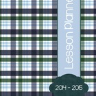 Plan and Go Teacher Lesson Planner 2014-2015 {Preppy Plaid