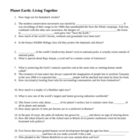 Planet Earth: Living Together Video Questions