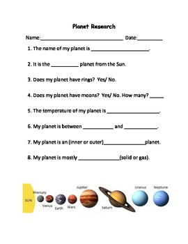 Printables Planet Worksheets planet worksheets versaldobip davezan