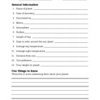 Planet Worksheet: Internet Research