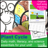 Plants : A Science Bundle of Math,ELA and Music Activities