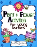 Plant & Flower Activities For Young Learners Mega Pack