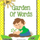 Plant - Spring - Syllables and ABC order center - 2nd and