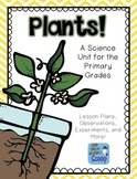 Plants Unit Plan for Primary Grades
