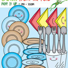 Plate It Up - Clipart for Teachers and Classrooms