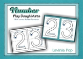 Playdough Mats - Numbers (0-30) with Correct Number Formation
