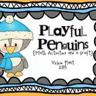 Playful Penguins {Math Activities and Craft}