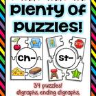 Plenty Of Puzzles - Digraphs, Blends, & Vowel Sounds