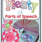 Plenty of Parts of Speech