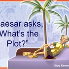 Plot - Story Elements Power Point Lesson Starring Caesar!