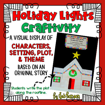 Plot, Theme, Characters, Setting Craftivity (includes orig