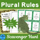 Plural Rules Scavenger Hunt more rigorous