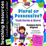 Plural or Possessive? Task Cards & More!