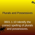 Plurals and Possessives PPT, game, and assessment