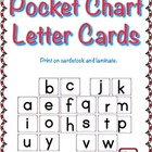 Pocket Chart Letter Cards