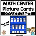 Pocket Chart Math Center Cards