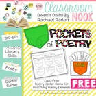 Pockets of Poetry - Center Game for Poetry Elements