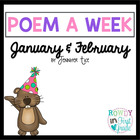 Poem a Week January and February