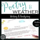 Weather Poems:  Poetry Analysis and Writing