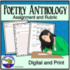 Poetry Anthology Anchor Activity and Rubric