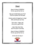 Poetry Binders - Great Author for Primary Classrooms