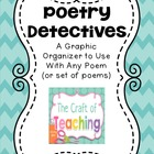 Poetry Detectives Graphic Organizer