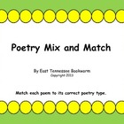Poetry Mix and Match
