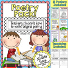 Poetry Pack - Teaching Students to Write Original Poems