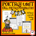 Poetry Possibilities - Fall