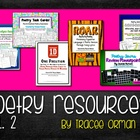 Poetry Resources Bundle Volume 2