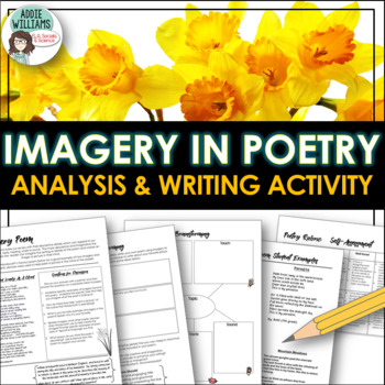 Poetry - Students learn about Imagery & Write their own poem