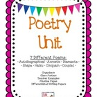 Poetry Unit-2 weeks or use for a club!