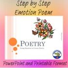 Poetry - Using Emotion to Create Poetry PowerPoint