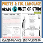 Poetry and Figurative Language Unit: Grade 5...40 Lessons