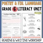 Poetry and Figurative Language Unit: Grade 6...40 Lessons