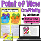 Point of View Craftivity: Present-ing Different Points of View