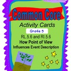 Point of View Grade 5 Common Core RL.5.6 and RI.5.6