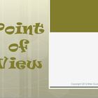 Point of View Reading Strategy PowerPoint