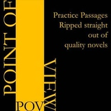 Point of View - Review Practice with Novel Passages
